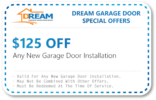 New Garage Door Installation Coupons