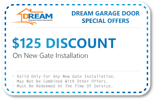 New Gate Installation Discount