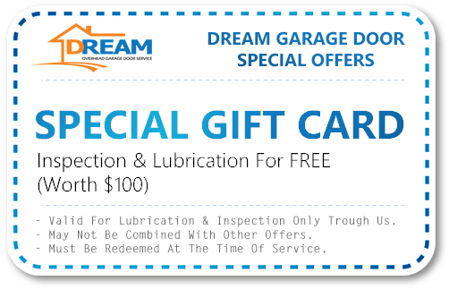 Garage Door Saving Gift Card