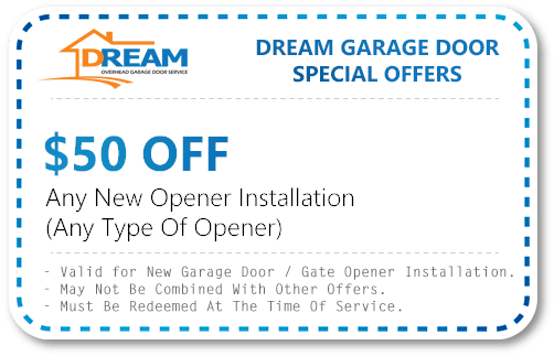 New Opener Installation Coupon