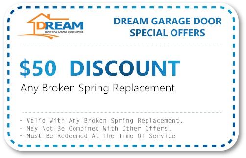 Garage Door Spring Replacement Discount