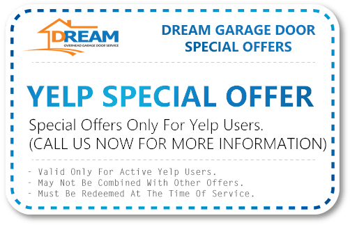 Yelp Special Offer For Garage Door Services
