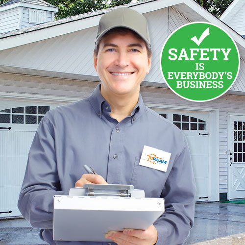 Garage Door Safety Inspection