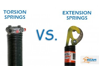 Torsion or Extension Garage Door Springs