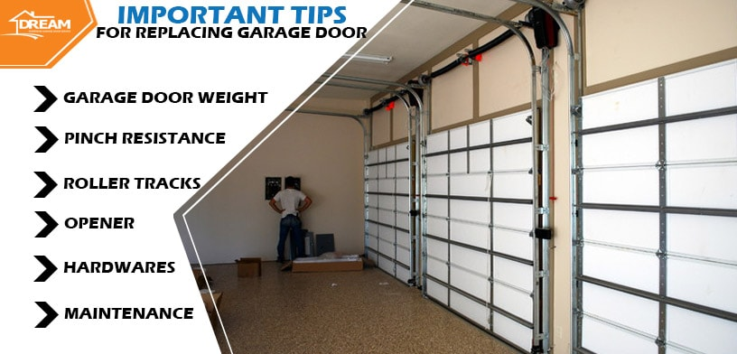 Tips For Replacing a Garage Door