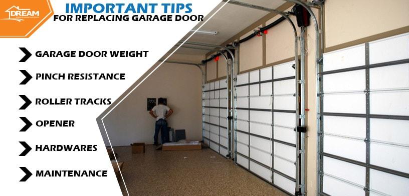 Tips For Replacing a Garage Door